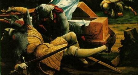 Detail from Grunewald's Resurrection
