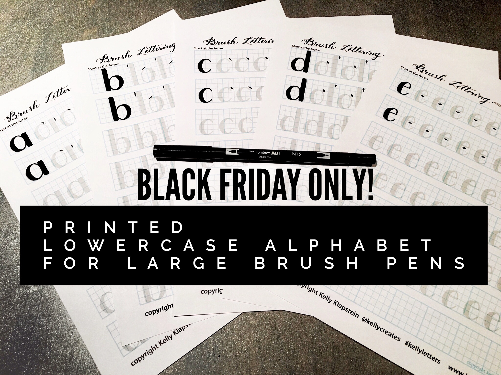 Black Friday One Day Sale Kelly Creates