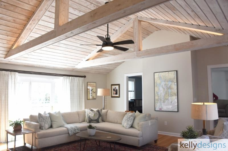 Great Room - Interior Design by kellydesigns