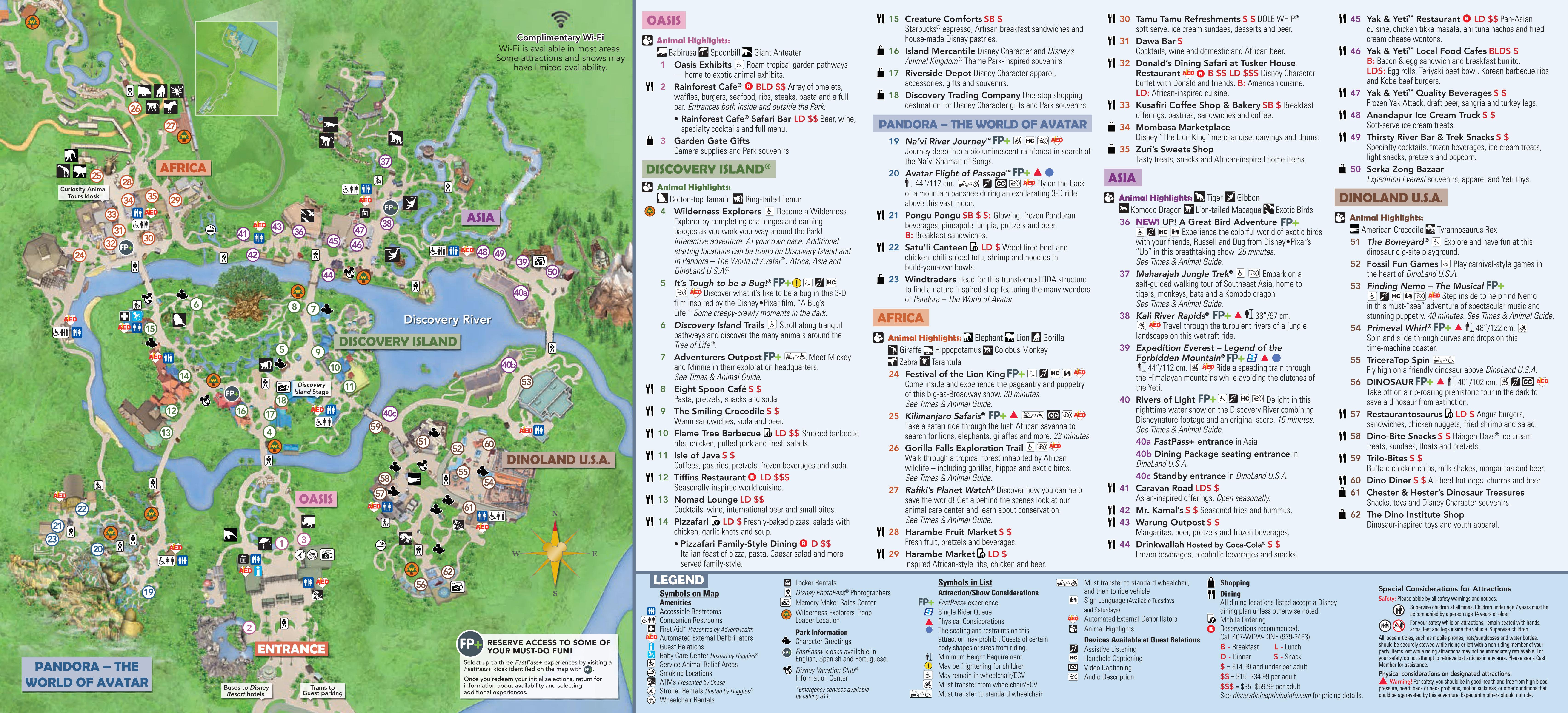 Epcot Festival Ot Arts 2019 Park Map Walt Disney World Other ...
