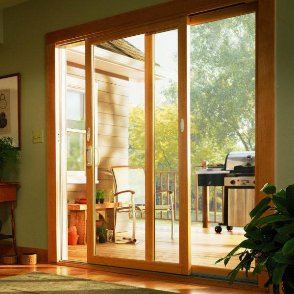 200 series narroline gliding patio door