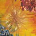 Wonder - acrylics on canvas - Kelly Goss