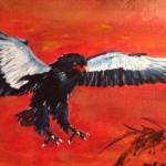 Bateleur bird - Kelly Goss Art