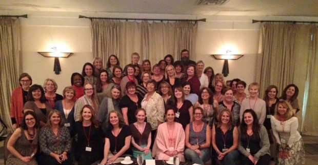Sixty Five women (and one man) at the Women's Fiction Writers Association retreat in Albuquerque, New Mexico