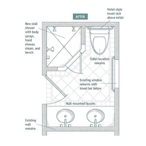bathroom designs for small spaces plans