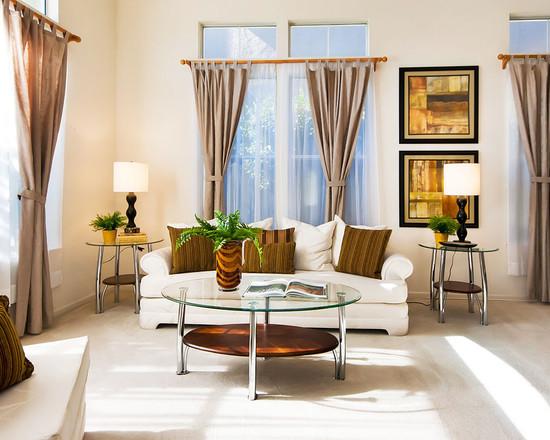 Curtain Ideas for Living Room windows