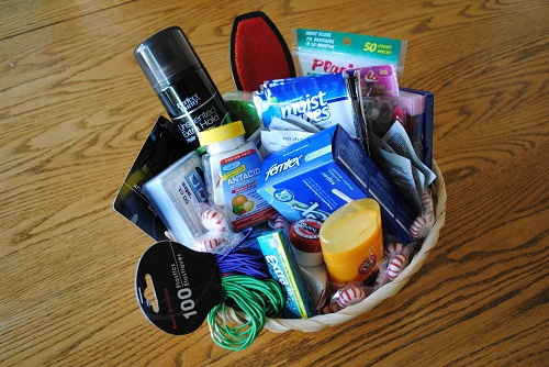 Items for Bathroom Basket for Wedding
