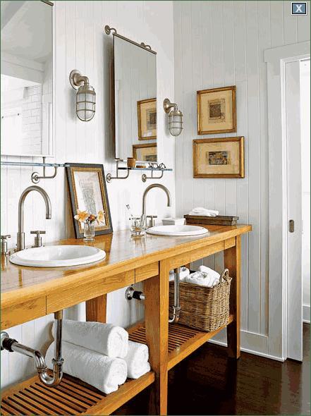 Cottage Style Bathroom Design Ideas