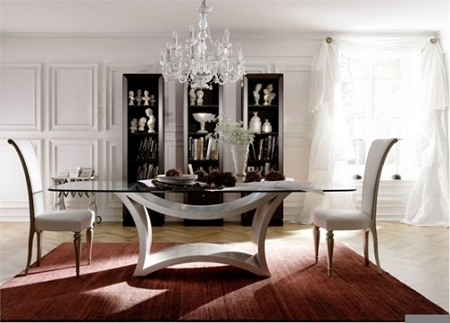 Glass Dining Room Tables