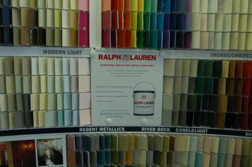 Ralph Lauren Suede Paint Samples