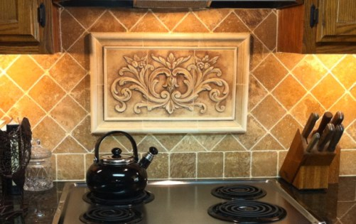 Ceramic Tile Kitchen Backsplash Murals
