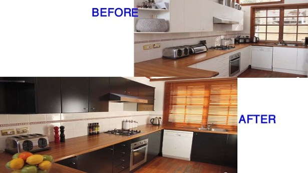 DIY Kitchen Cabinet Painting Ideas