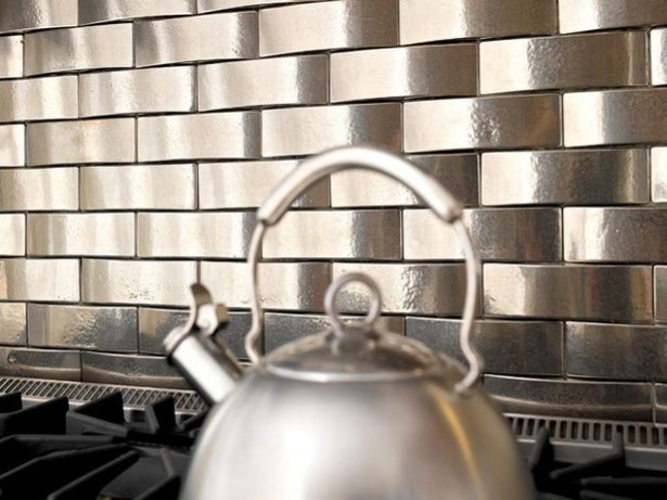 Kitchen Tin Backsplash Decorating