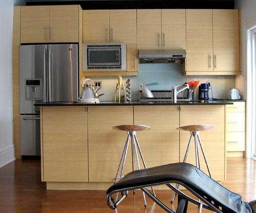 Bamboo Kitchen Cabinets-Canada