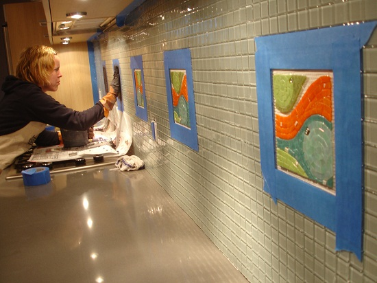 Granite Countertop and Back Splash Pictures
