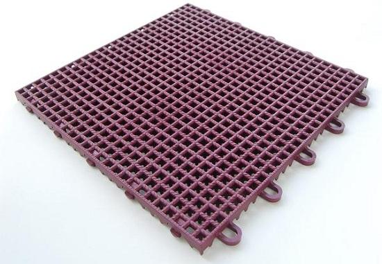 Rubber Locking Floor Tiles