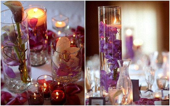 Floating Candle Centerpieces Wedding