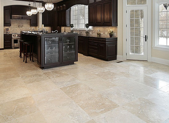 Travertine Tile for Kitchen