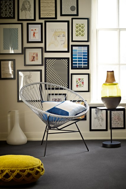 Hipster Gallery Wall Design Ideas