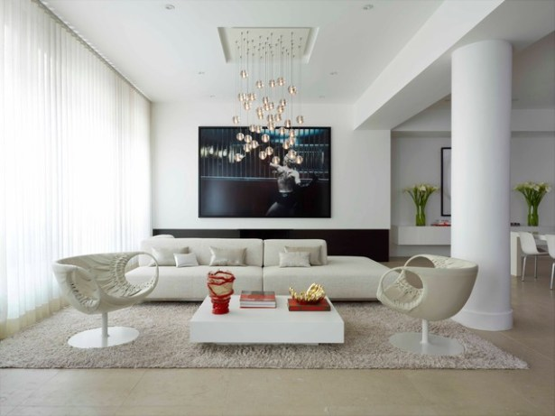 Contemporary Living Room Decorations