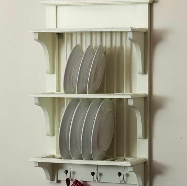 Plate Rack Wood Design