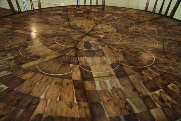 Round Dining Table Set for 10