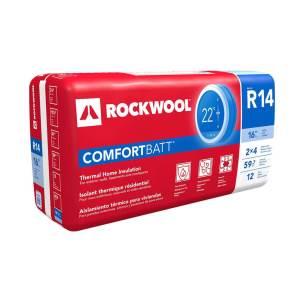 Rockwool ComfortBatt 2×4 stud