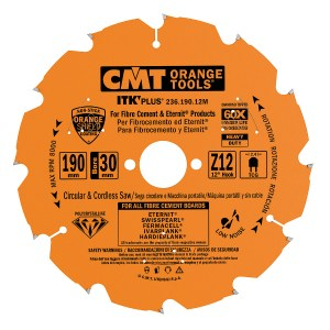 CMT-ITK PLUS DIAMOND CIRCULAR SAW BLADES FOR ULTRA-HARD MATERIALS