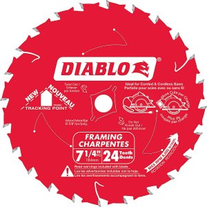 Diablo 7.25-inch Framing Blade