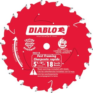 Diablo Framing Blade 5-1/2 Inch
