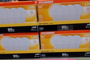 Sylvania 60w light bulb