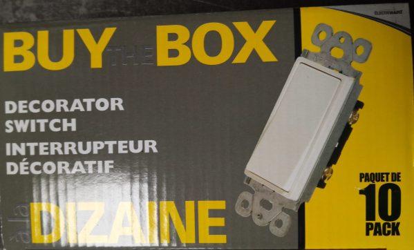 Buy the box at Kelly Lake