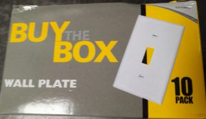 Buy The Box (10 pack) – Wall Plate