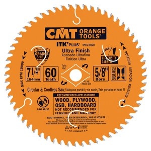 CMT – ITK PLUS ULTRA FINISH CIRCULAR SAW BLADE