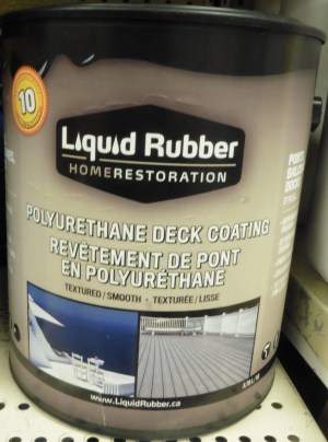 Polyurethane Deck Coating – Liquid Rubber