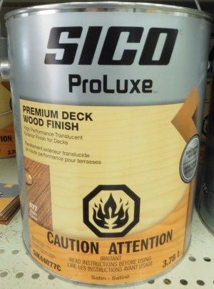 SICO Premium Deck Wood Finish