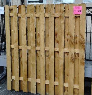 """72"""" X 8′ Shadow Box Fence"""