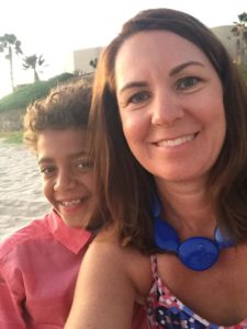mom & son Rocky Point Mexico