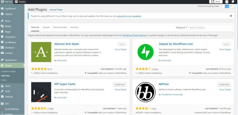 Learn which WordPress Plugins Kelly Luvs thinks are essential as a blogger. www,kellyluvs.com