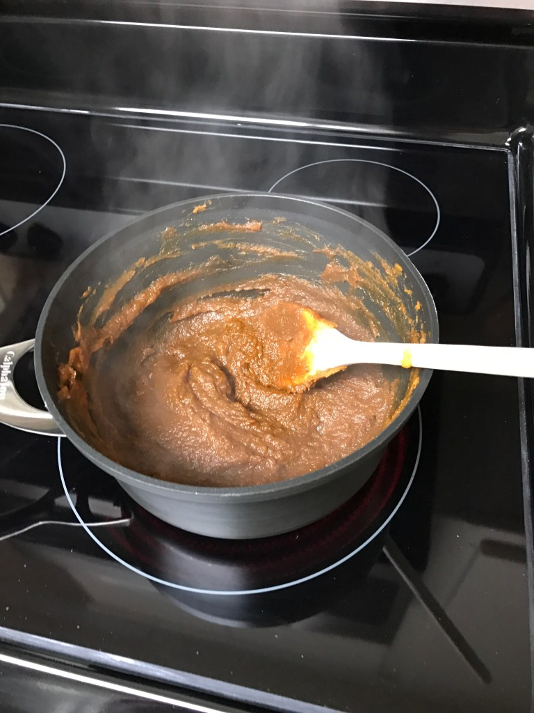Pumpkin pie mixture