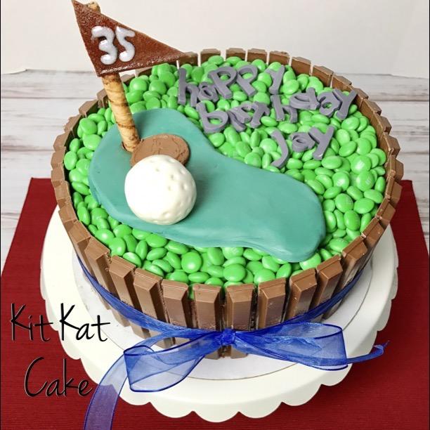 Chocolate Kit Kat Candy Cake