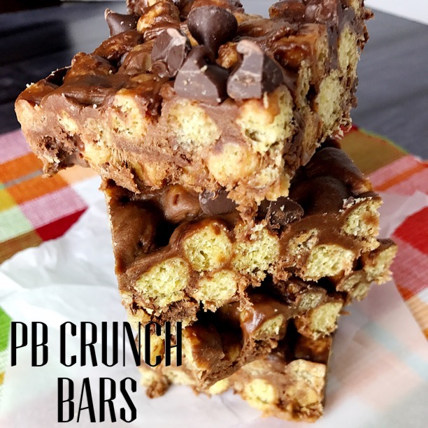 Cap'n's Peanut Butter Crunch Bars