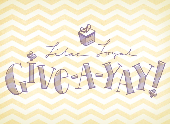 Lilac Loyal give-a-yay, april