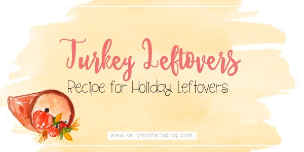 Recipe suggestion for leftover holiday turkey.