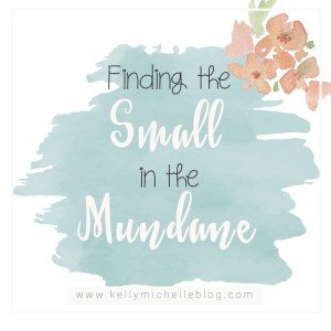 Finding the Small Things in the Mundane