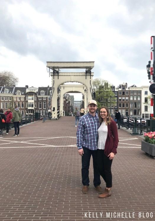 Walking tour through Amsterdam.