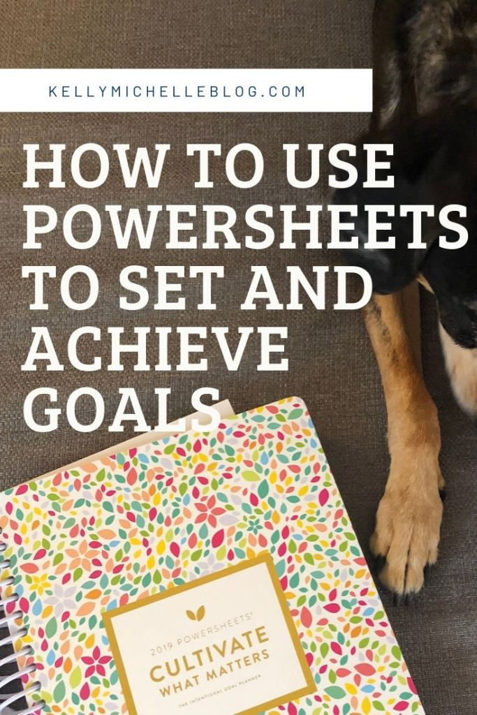 Set intentional goals and achieve them using the number one goal setting tool- Powersheets!