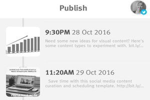 Publish by Crowdfire