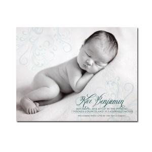 Elegant Birth Announcement