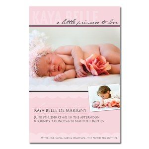 Little Princess Birth Announcement